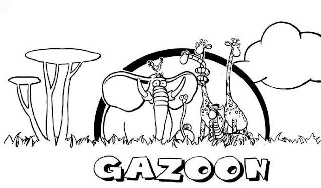 Gazoon da colorare 5