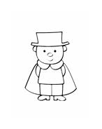 Personaggio delle fiabe da colorare 24