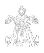 Ghost rider da colorare 3
