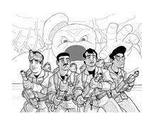 Ghostbusters da colorare 4