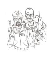 Ghostbusters da colorare 7