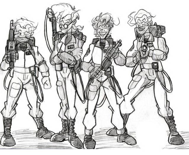 Ghostbusters da colorare 8