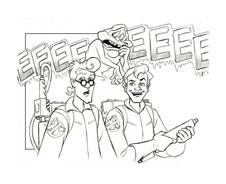 Ghostbusters da colorare 9