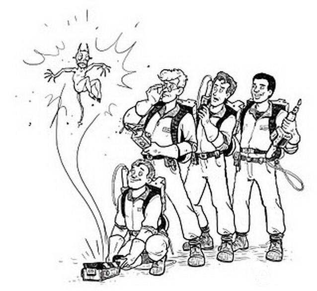 Ghostbusters da colorare 11