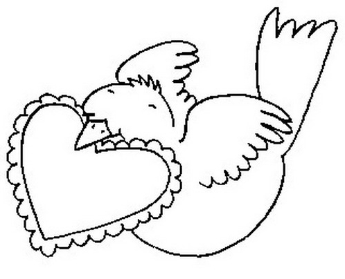 Uccello da colorare 171