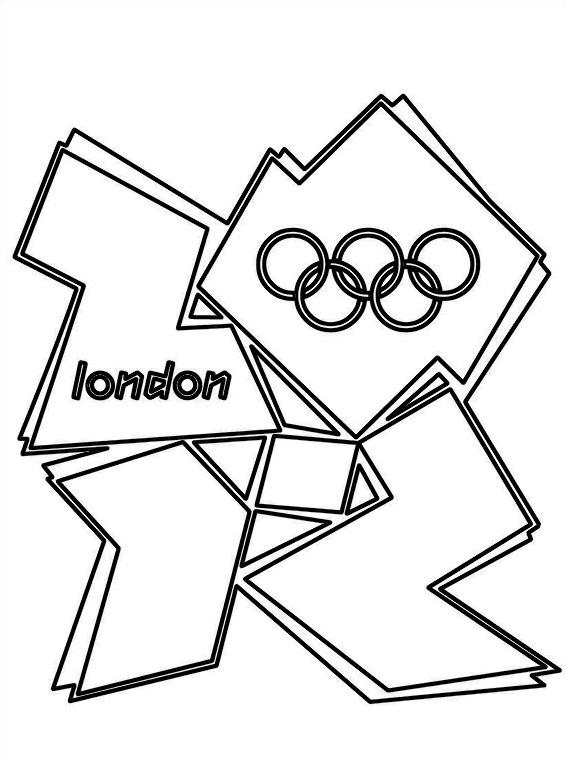 Giochi olimpici da colorare 14