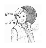 Glee da colorare 5