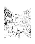 Gli orsetti del cuore da colorare 2