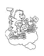Gli orsetti del cuore da colorare 3