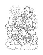 Gli orsetti del cuore da colorare 6