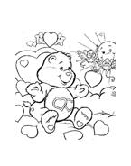 Gli orsetti del cuore da colorare 7