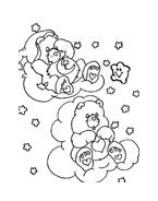 Gli orsetti del cuore da colorare 10