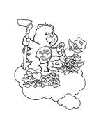 Gli orsetti del cuore da colorare 11