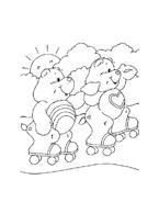 Gli orsetti del cuore da colorare 13