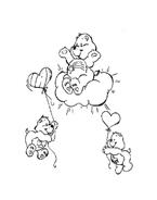 Gli orsetti del cuore da colorare 14