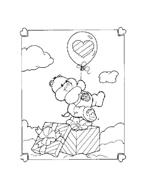 Gli orsetti del cuore da colorare 16