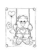 Gli orsetti del cuore da colorare 17