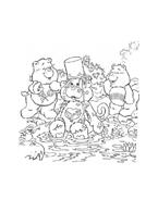 Gli orsetti del cuore da colorare 18