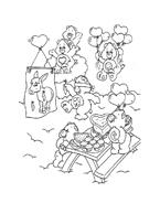 Gli orsetti del cuore da colorare 22