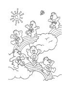 Gli orsetti del cuore da colorare 23