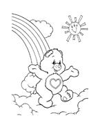 Gli orsetti del cuore da colorare 24