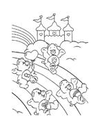 Gli orsetti del cuore da colorare 26