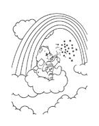 Gli orsetti del cuore da colorare 33