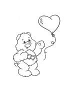 Gli orsetti del cuore da colorare 40
