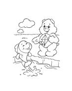 Gli orsetti del cuore da colorare 42