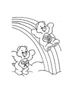 Gli orsetti del cuore da colorare 43