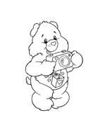 Gli orsetti del cuore da colorare 44