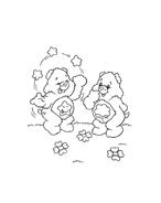 Gli orsetti del cuore da colorare 46