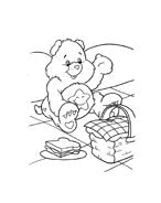 Gli orsetti del cuore da colorare 47