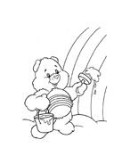 Gli orsetti del cuore da colorare 48