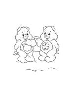 Gli orsetti del cuore da colorare 50