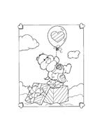 Gli orsetti del cuore da colorare 52