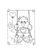 Gli orsetti del cuore da colorare 53