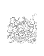 Gli orsetti del cuore da colorare 54