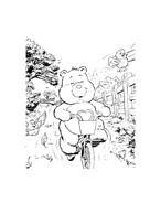 Gli orsetti del cuore da colorare 55