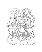 Gli orsetti del cuore da colorare 58