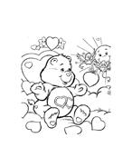 Gli orsetti del cuore da colorare 59