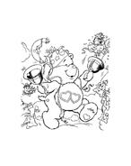 Gli orsetti del cuore da colorare 61