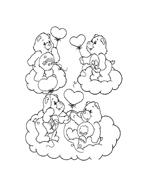 Gli orsetti del cuore da colorare 63