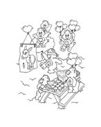 Gli orsetti del cuore da colorare 65