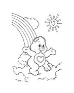 Gli orsetti del cuore da colorare 67