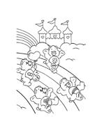 Gli orsetti del cuore da colorare 69