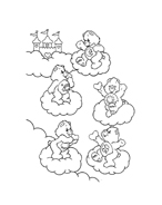 Gli orsetti del cuore da colorare 72
