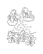 Gli orsetti del cuore da colorare 81