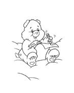 Gli orsetti del cuore da colorare 82