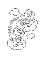 Gli orsetti del cuore da colorare 86